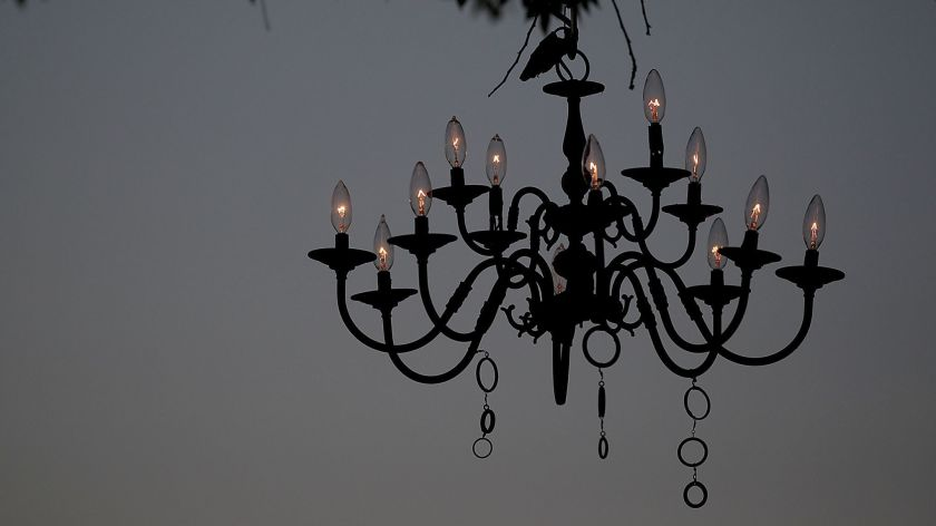 The chandelier which shows God love